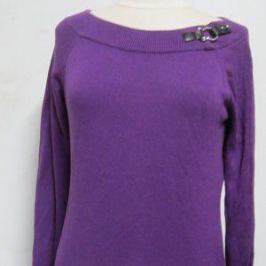 Lauren Ralph Lauren Purple M cotton sweater